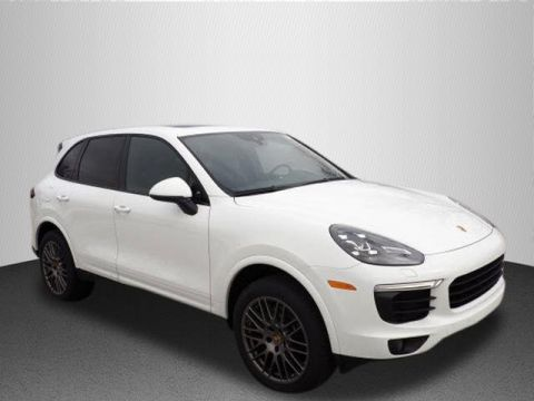 New 2018 Porsche Cayenne Platinum Edition with Navigation & AWD