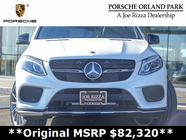 Pre Owned 2017 Mercedes Benz Gle Gle 43 Amg Coupe Coupe In Orland