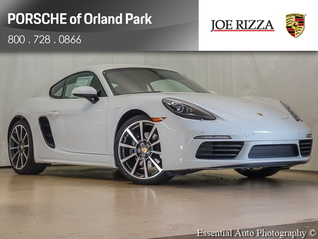 New 2018 Porsche 718 Cayman RWD 2D Coupe
