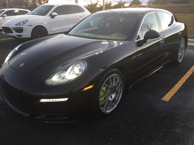 Certified Pre-Owned 2015 Porsche Panamera Hybrid S