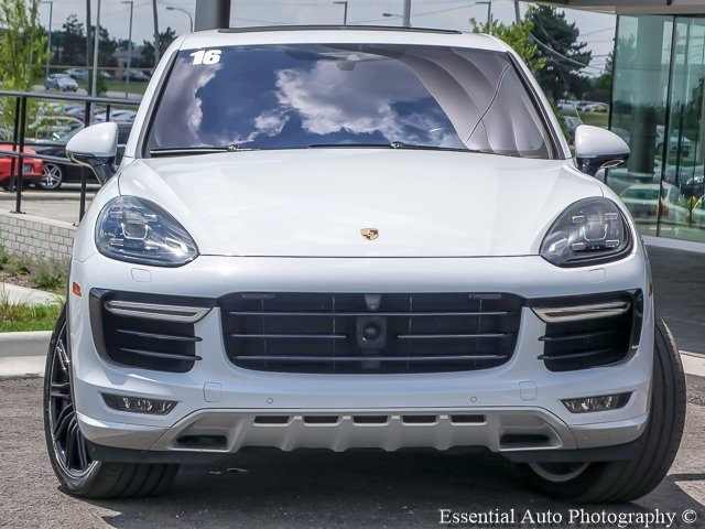 Pre-Owned 2016 Porsche Cayenne Turbo S