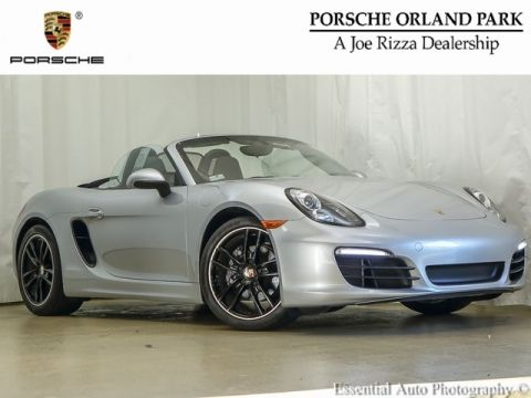 Certified Pre-Owned 2015 Porsche Boxster Base