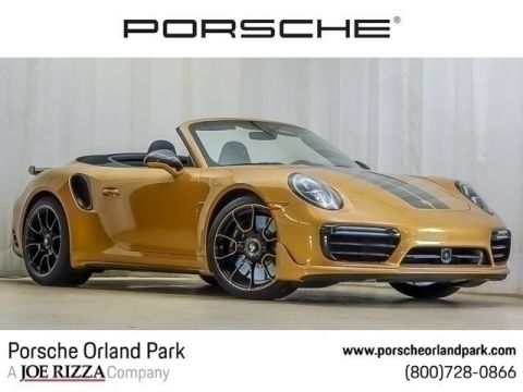 New 2019 Porsche 911 Turbo S Cab Excl Series